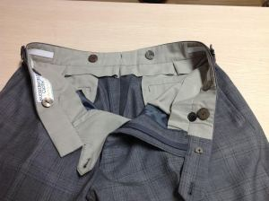 Trousers in construction